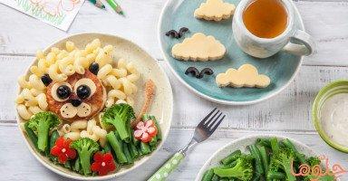 أهمية العشاء المنزلي للأطفال