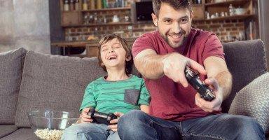 فوائد الألعاب الالكترونية للأطفال