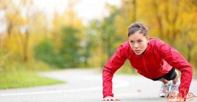 بالصور تمارين رياضية منزلية سهلة وفعالة