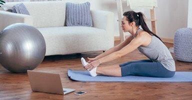 تمارين رياضية في البيت للنساء للتنحيف واللياقة