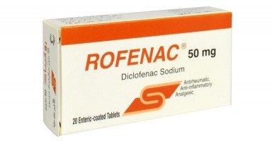 دواعي استعمال دواء روفيناك Rofenac الجرعة والآثار الجانبية