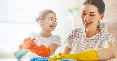 نصائح تنظيف المنزل وأفكار تنظيف أجزاء البيت بالتفصيل