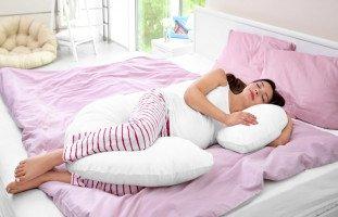 نوم الحامل في الشهور الأولى من الحمل (الشهور الأولى للحمل والجماع)