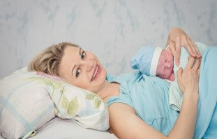 مشروبات بعد الولادة القيصرية