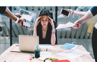 التوتر والإرهاق الوظيفي