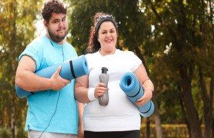 السمنة وزيادة الوزن بعد الزواج للرجال والنساء