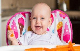 وصفات غذاء الطفل في الشهر الثامن وأكل الرضيع 8 شهور