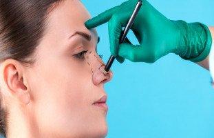 عمليات تجميل الأنف الجراحية وأنواعها
