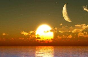 تفسير رؤية اجتماع الشمس والقمر في المنام بالتفصيل