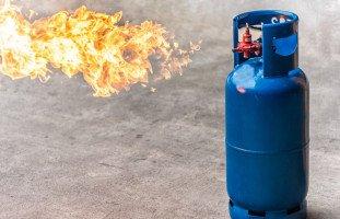 اسطوانة الغاز في المنام وحلم انفجار أنبوبة الغاز