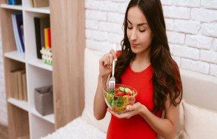 الأكل بعد الولادة القيصرية