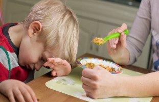 مشاكل الأكل عند الأطفال