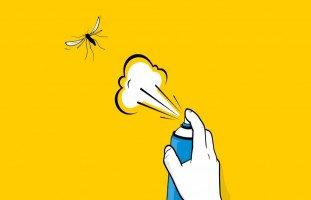 طرق طبيعية للتخلص من الناموس وحماية البشرة من اللدغ