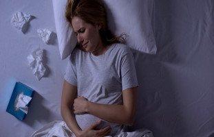 نفسية الحامل في الشهر التاسع وبكاء وعصبية الحامل