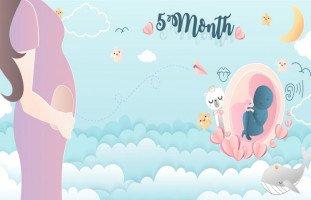 أعراض الحمل في الشهر الخامس ببنت أو ولد ونصائح للحامل في الشهر الخامس