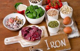 أغذية غنية بالحديد