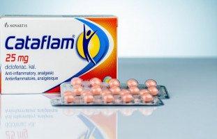 دواعي استعمال دواء كتافلام Cataflam والآثار الجانبية