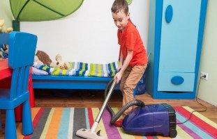 تأثير أعمال المنزل على الأطفال الذكور