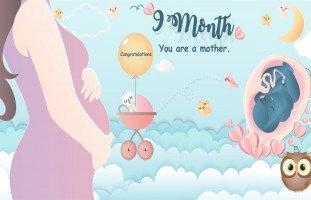 كيف أعرف وضعية الجنين في الشهر التاسع وحركة الجنين؟