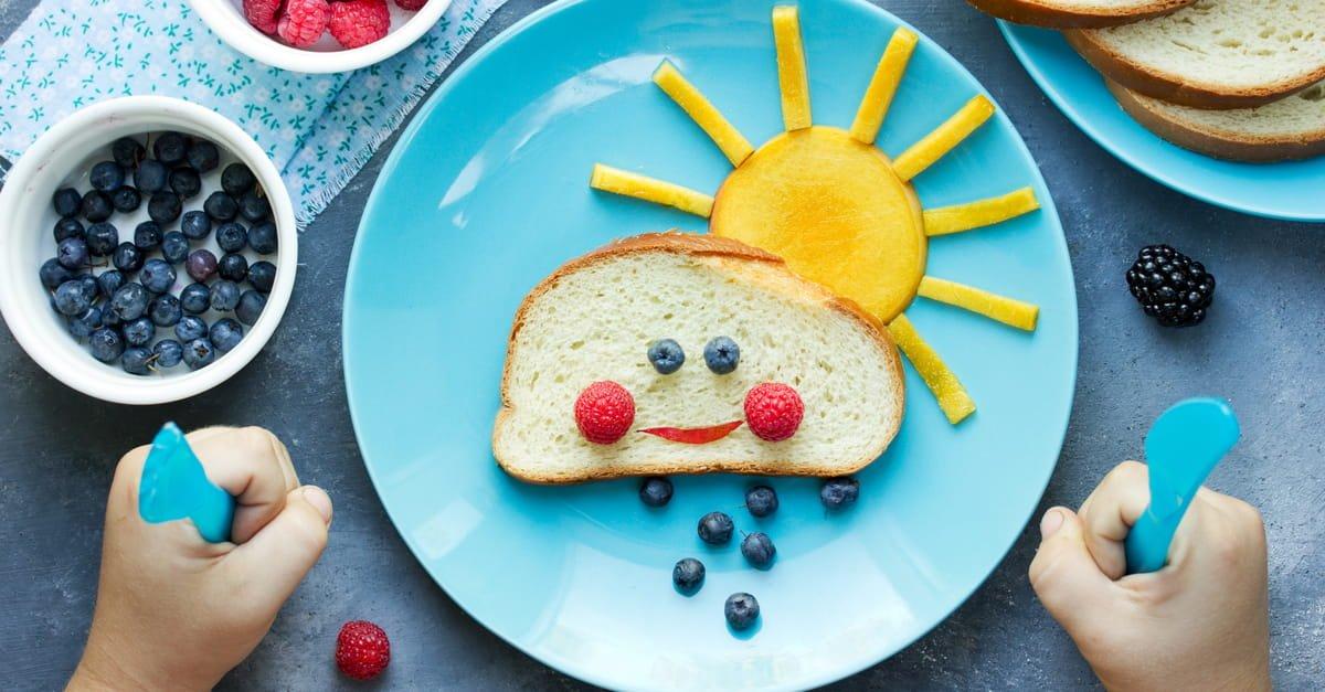 الغذاء الصحي للأطفال في عمر 9 إلى 11 عاما