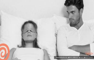 زوجتي تهملني بسبب النوم