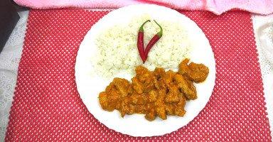 طريقة عمل كاري الدجاج الهندي الأصلي