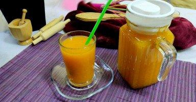 طريقة عمل عصير قمر الدين الجاهز