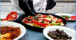 تطبيق حشوة بيتزا الخضروات