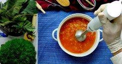 طريقة عمل شوربة الطماطم الإيطالية