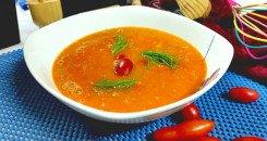 شوربة الطماطم الصحية لمرضى السكري