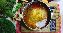 كبسة الرز البسمتي واللحمة