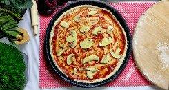 طريقة عمل بيتزا الشوفان لمرضى السكر وللرجيم