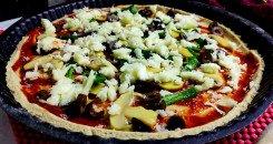 بيتزا الشوفان الصحية
