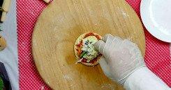 وصفة الميني بيتزا المدرسية