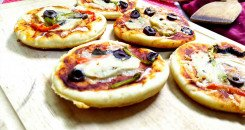 البيتزا الصغيرة للأطفال