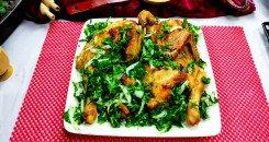 دجاج مشوي في الفرن المنزلي بالتتبيلة