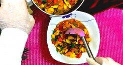 البرودو التونسي بالدجاج والخضروات