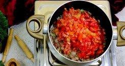 طريقة عمل صلصة الطماطم للبامية
