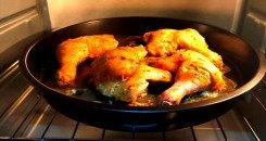 شوي الدجاج التندوري في الفرن