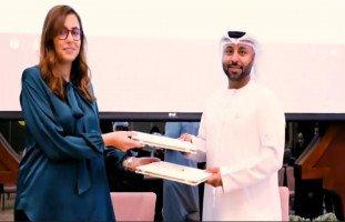 موقع حِلّوها يوقع إتفاقية شراكة مع شبكة رؤية الإمارات الإعلامية